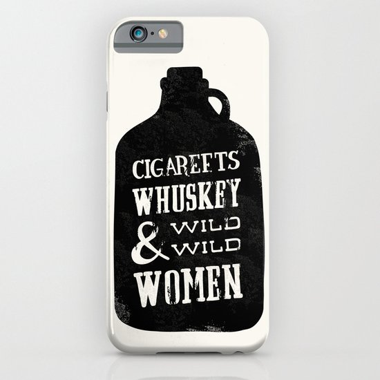 Cigareets & whuskey iPhone & iPod Case