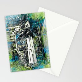 Meter Maider Street Fury in SanFrancisco Stationery Cards