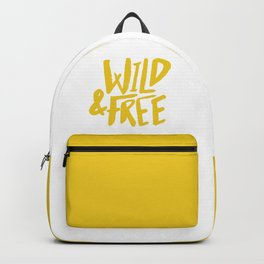Wild and Free - Sunshine Backpack