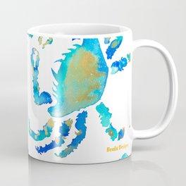 Craggy Blue Crab Coffee Mug