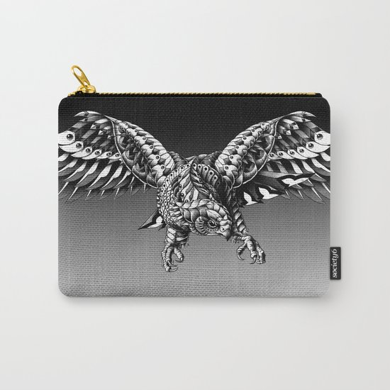 Ornate Falcon Carry-All Pouch