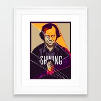 shining Framed Art Prints featuring Shining by FourteenLab