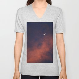 Hide and Go Find Moon Unisex V-Neck