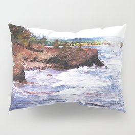 Upper Peninsula Landscape Pillow Sham