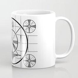 Indian Head Test Pattern Coffee Mug