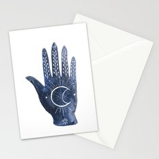 A Good Outlook Palmistry Illustration  Stationery Cards