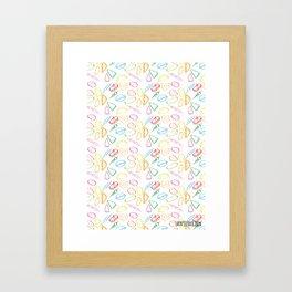 TAPITAS Framed Art Print