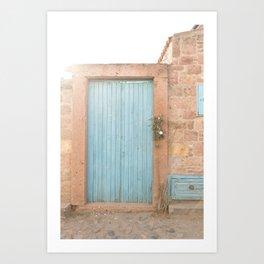Doorways - Cunda Island II Art Print