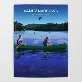 Sandy Narrows Poster