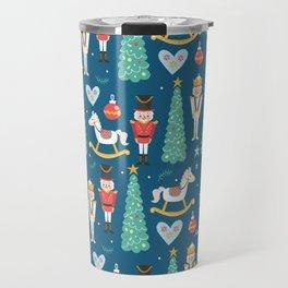 Nutcrackers under the Christmas Tree Travel Mug