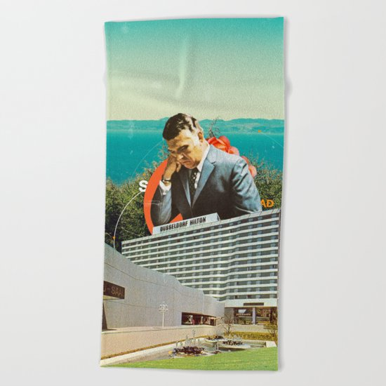 Sad Beach Towel