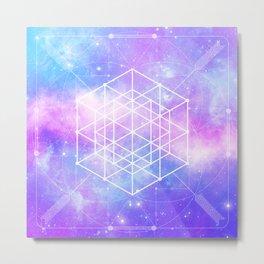 Sacred Geometry (Universal Consciousness) Metal Print