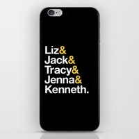 30 rock iPhone & iPod Skins featuring 30 ROCK by Maria Giorgi