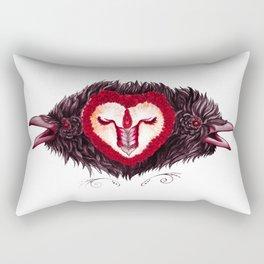 sangre de la vida Rectangular Pillow