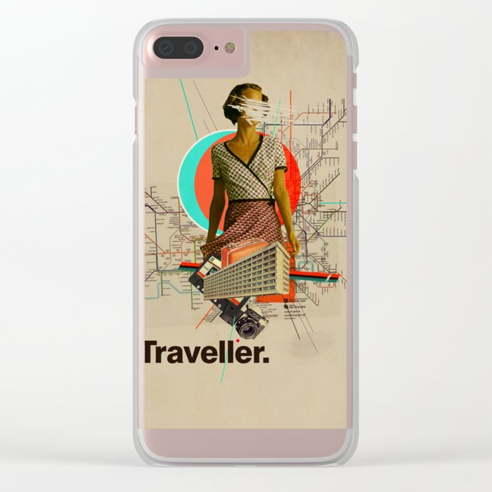 Traveller Clear iPhone Case