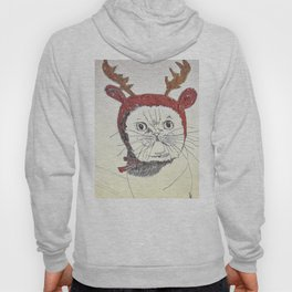cat reindeer Hoody