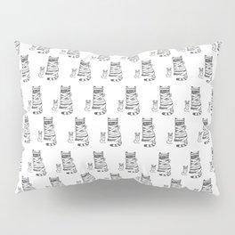 Mummy Cat & Mummy Mouse – Silent Horror Pillow Sham