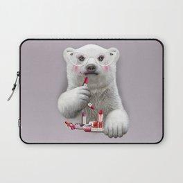 PAULA LIPSTICK Laptop Sleeve