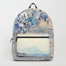The Tenderfoot - Charles Marion Russell Backpack
