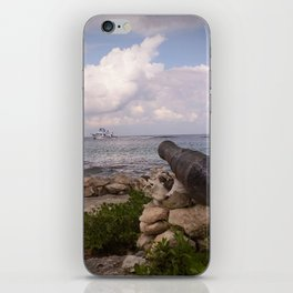 hold fire! iPhone Skin