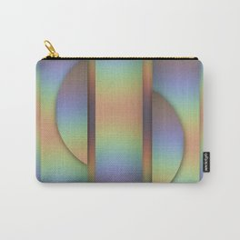 Modern geometric rainbow abstract Carry-All Pouch