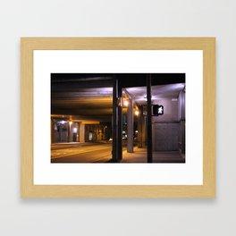 Sterile Contamination Framed Art Print