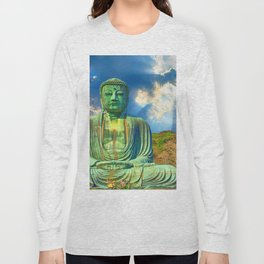 Sacred Buddha Sky Long Sleeve T-shirt