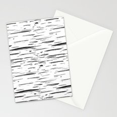 Birch Black and White Stationery Cards