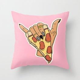 PIZZA SHAKA (LIGHT) Throw Pillow