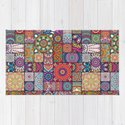 Boho Patchwork Quilt Pattern 2 by robincurtiss