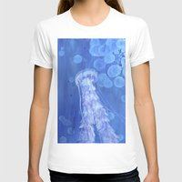 jelly fish T-shirts featuring Jelly Fish by Lise Dumas Richard