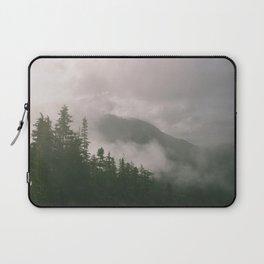 Foggy Forest (Squamish, British Columbia, Canada) Laptop Sleeve