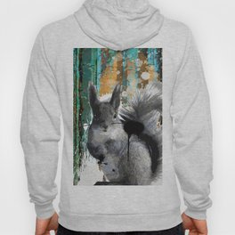Cheeky Industrious Squirrel  Hoody