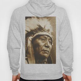 Chief Running Antelope - Native American Sioux Leader Hoody