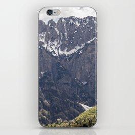 Dolomite Mountains Italy iPhone Skin