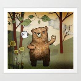 The Little Bear Art Print