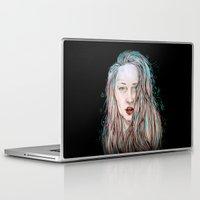 goddess Laptop & iPad Skins featuring Goddess  by Jenn