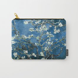 Van Gogh Almond Blossoms : Ocean Blue Carry-All Pouch
