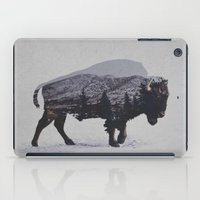 running iPad Cases featuring The American Bison by Davies Babies