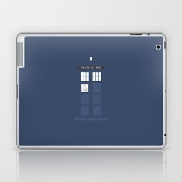 Tardis ( Doctor Who ) Laptop & iPad Skin