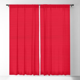 Juicy Red Apple Brush Texture Blackout Curtain