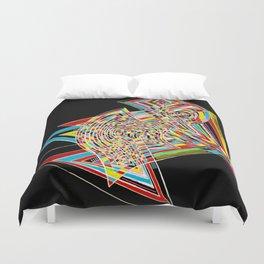 colors of conscious Duvet Cover
