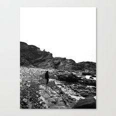 Standing on the coast Canvas Print