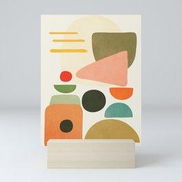 Modern Abstract Art 71 Mini Art Print
