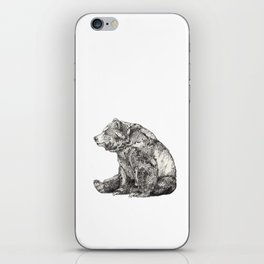 Bear // Graphite iPhone Skin