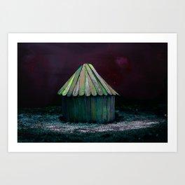 Lost and Found, Carnivale, Self-made scene Art Print