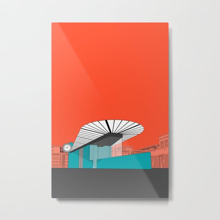 Turquoise Island Metal Print