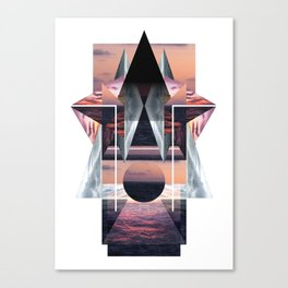 Day 8: Sunset Canvas Print