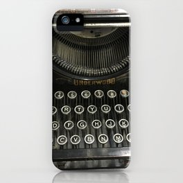 i'm a vintage type iPhone Case