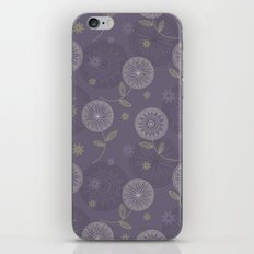 Folky Lace Flowers iPhone & iPod Skin